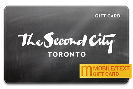 The Second City Canada M-Gift Card
