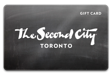 The Second City Canada Physical Gift Card